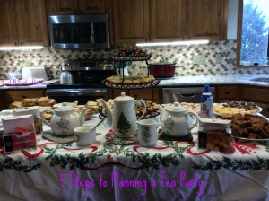 5 Steps to Planning a Tea Party