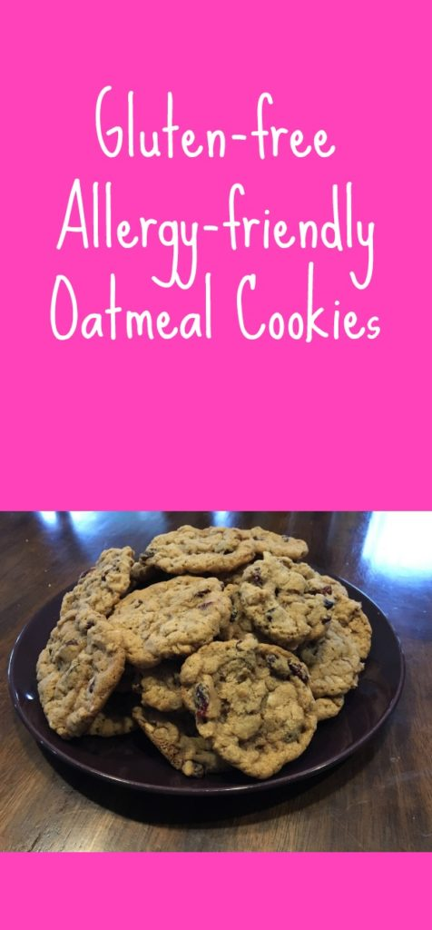 Try these gluten-free allergy-friendly oatmeal cookies and you'll love them!  Whether you are Celiac, have food allergies, or just love good cookies, you MUST try them!