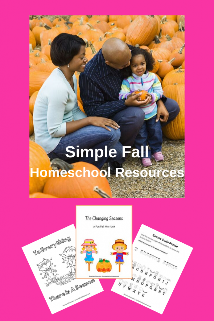 Welcome fall with this simple and fun mini-unit that focuses on celebrating God's creation! Don't forget to download your fall mini-unit printable pack! #fall #homeschool #unitstudy
