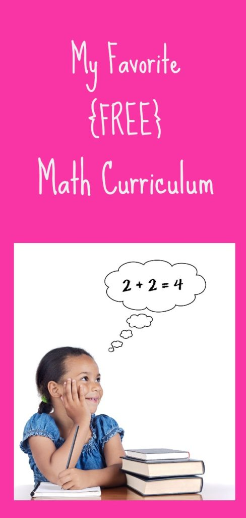 If you're in the market for a new math curriculum, check out my favorite, FREE program!