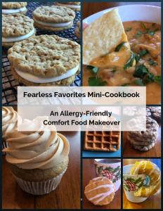 Gluten-free, diary-free oatmeal cream pie recipe: an allergy-friendly twist on a classic childhood favorite! #glutenfree #oatmealcreampie #dairyfree