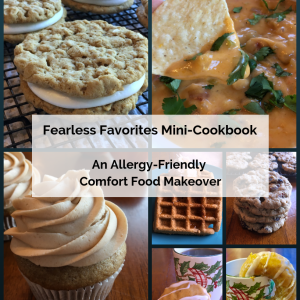 Gluten-free & allergy-friendly mini-cookbook with tasty treats for everyone!