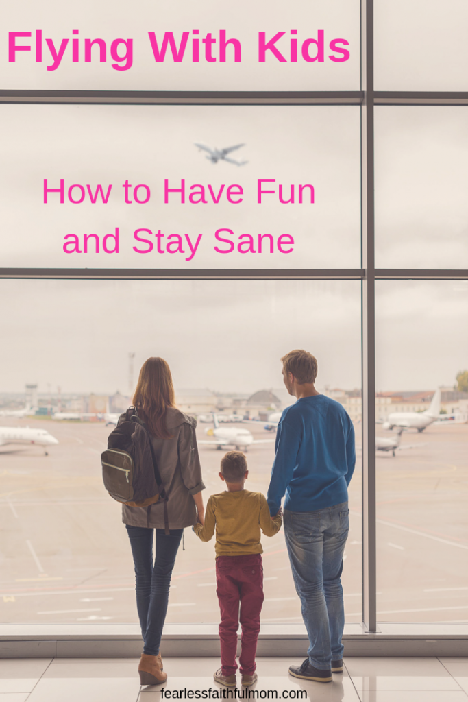 Learn how to make flying with kids less stressful and more enjoyable. Follow my 3 big steps for flying with kids while staying sane! #flyingwithkids #parenting #motherhood