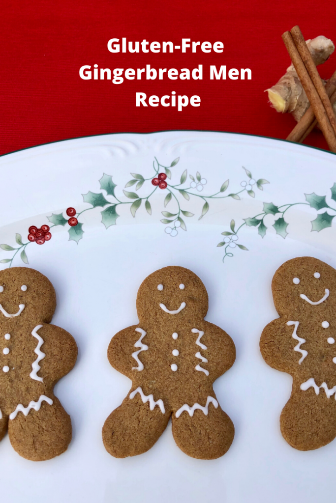 Make sure nobody gets left out this Christmas by using this gluten-free gingerbread men recipe that's naturally free from dairy and eggs! #glutenfree #gingerbread #vegan