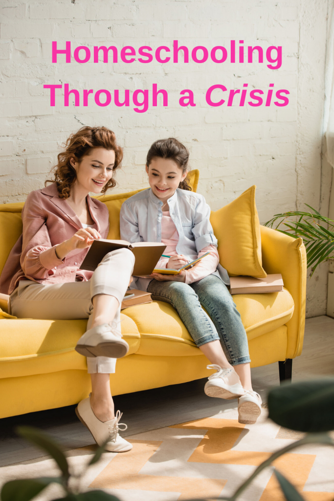 Follow these lessons from the Coronavirus pandemic one how to make homeschooling through a crisis strengthen your family and your faith! #homeschooling #coronavirus