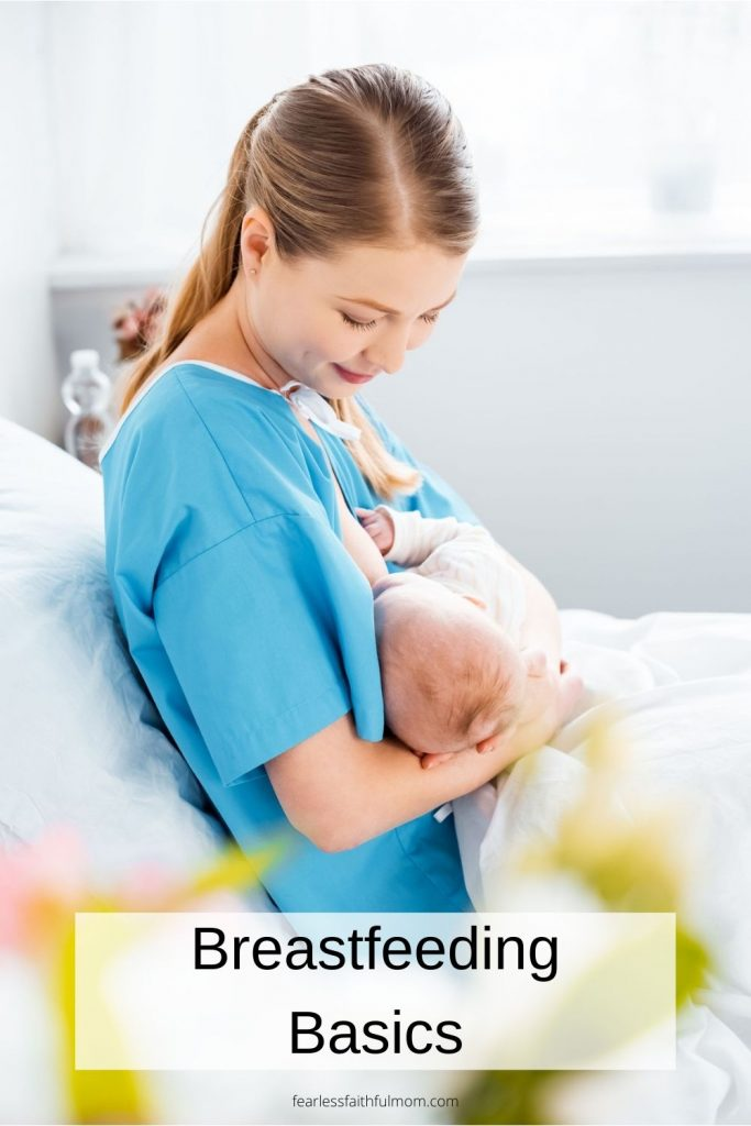 Breastfeeding is natural and wonderful, but sometimes you need a little help figuring things out. Read my breastfeeding basics to get ready for birth! #breastfeeding #birth #pregnancy